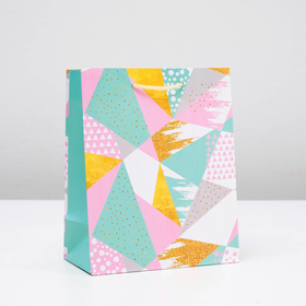 "Package gift ""Kaleidoscope"", 18 x 22.3 x 10 cm"