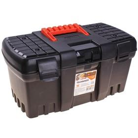 Ящик для инструментов BLOСKER Techniker, цвет черный, без внутреннего ящика