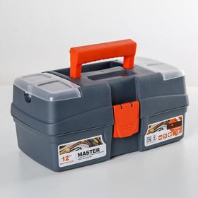 Ящик для инструментов Plastic Centre Smart, 12 секций, цвет МИКС