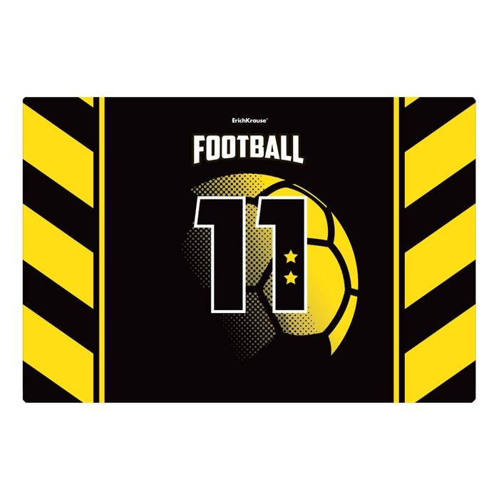 Накладка на стол пластиковая А3, ® Football Time, 430 х 290 мм, 550 мкм