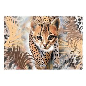 Накладка на стол пластиковая, А3, 430 х 290 мм, 550 мкм, Wild Cat