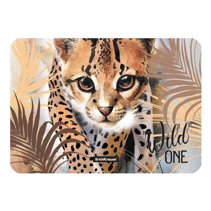 Накладка на стол пластиковая А4, 297 х 210 мм, 550 мкм, Wild Cat