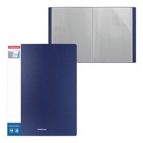 ErichKrause A4 Diamond Inserts 30 folder 30 inserts with pocket on the spine, blue 4994