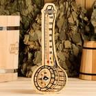 """Деревянный термометр+гигрометр для бани """"Черпак"""" спиртовой,"""