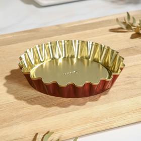Форма для выпечки булок №1, антипригарное покрытие, h=2,5 см, d=14*12 см