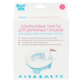 15 disposable disposable bags for travel pots
