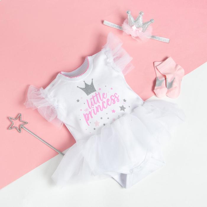 """Подарочный набор Крошка Я """"Little Princess"""", 22р, 62-68см - фото 489245"""