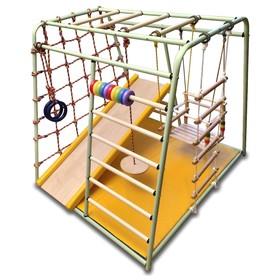 Детский спортивный комплекс Вертикаль «Весёлый малыш» MAXI NEW COLOR