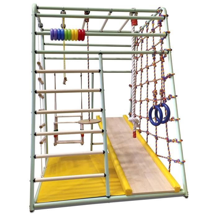 Детский спортивный комплекс Вертикаль «Весёлый малыш» NEXT new color, 1310 × 1070 × 1470 мм