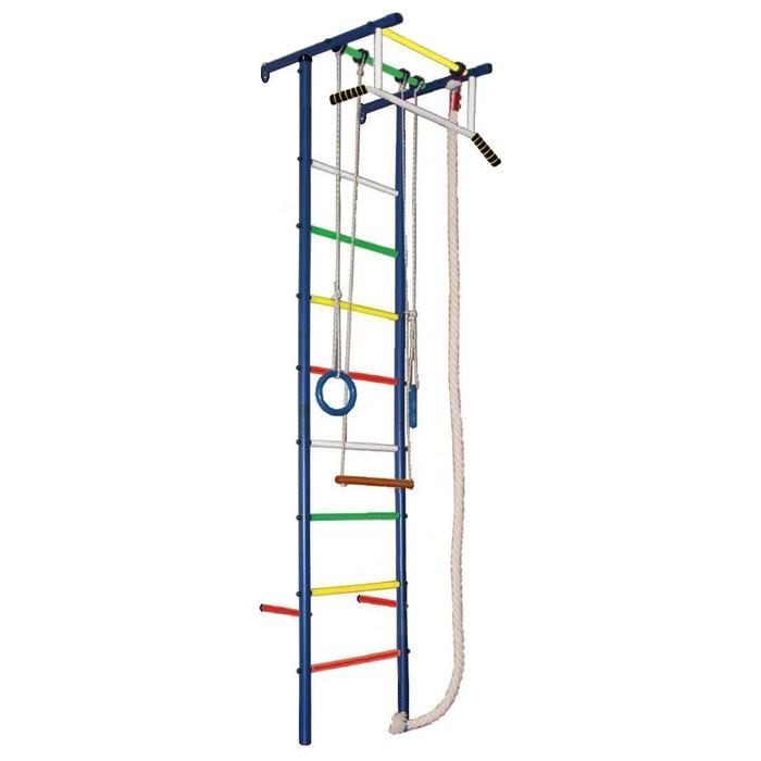 Детский спортивный комплекс Вертикаль «ЮНГА 3.1», 570 × 650 × 2350 мм