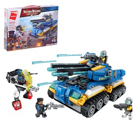 """Designer Army of the future """"Assault tank"""", 4 minifigure and 398 parts"""