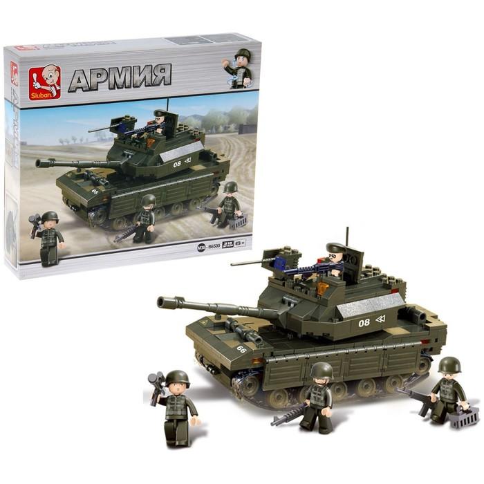 Конструктор «Штурмовой танк», 312 деталей - фото 105633738