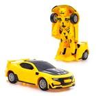 Робот-трансформер инерционный «Автобот», световые и звуковые эффекты, цвета МИКС