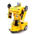Робот-трансформер «Автобот», световые и звуковые эффекты, работает от батареек - фото 105503043
