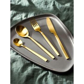 Набор столовых приборов, Magistro «Оску стандарт», 12 предметов, золотой