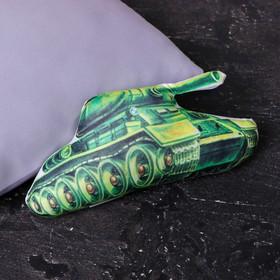 Подушка-игрушка антистресс «Танк»
