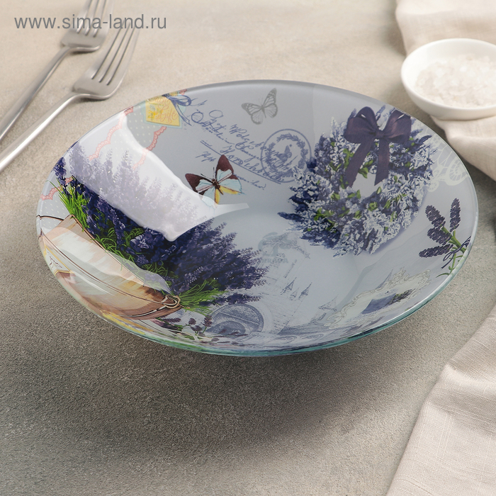 Bowl Lavender 22х5 cm