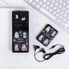 Набор наушники и павер банк, «Единорог»,наушники вакуумные, павер банк 5000 mAh, 2 USB-разъёма