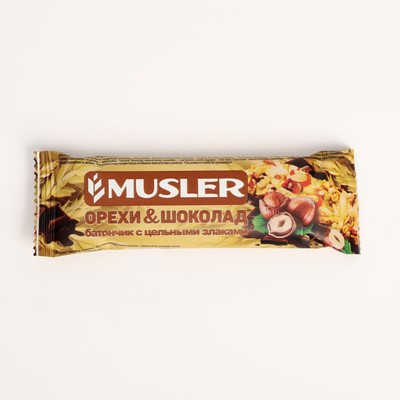 Bar MUSLER 30g nuts and chocolate