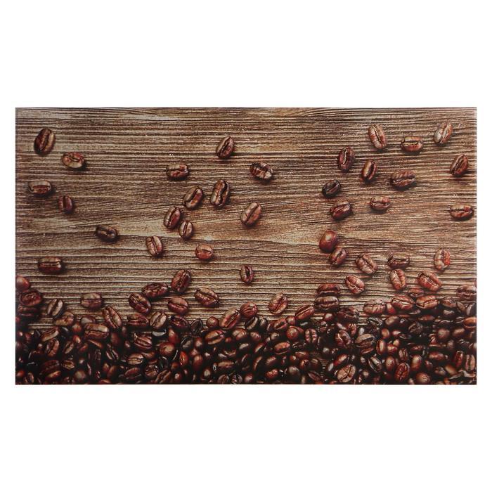"""Кухонный фартук """"Кофейные зерна"""", 1000x600x0,5"""