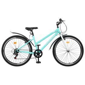 """Велосипед 26"""" Progress Ingrid Low, цвет бирюзовый/белый, размер 17"""""""