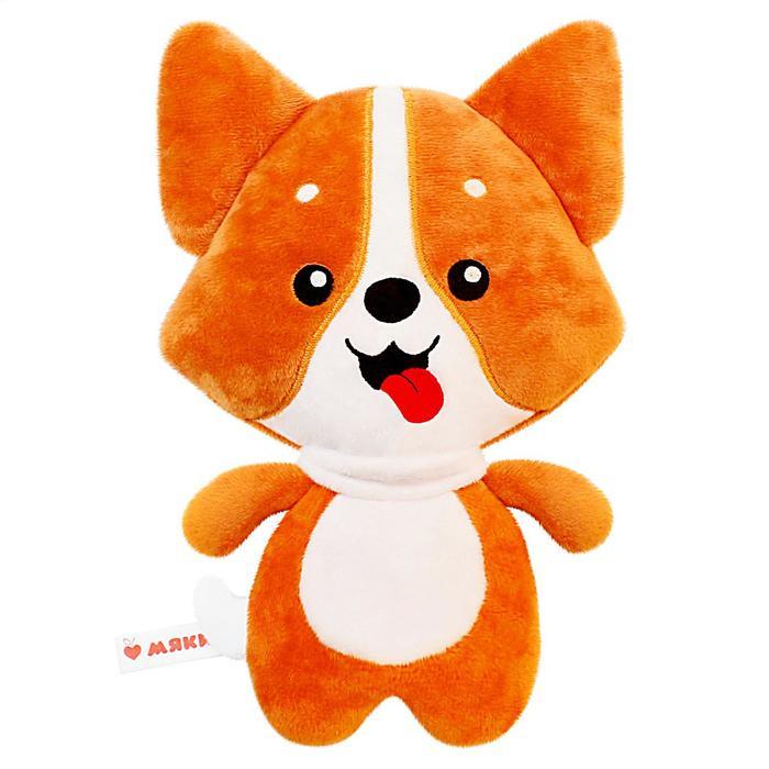 Развивающая игрушка-грелка «Корги» - фото 105533450