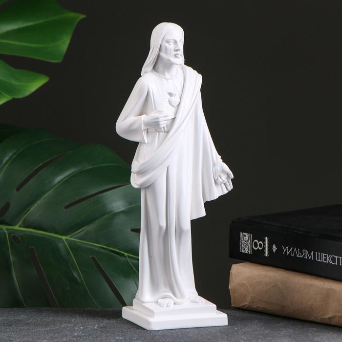 """Фигура """"Иисус"""" белый, 26х10х6,5см"""