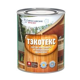 Состав ТЭКОТЕКС д/защиты и тонир.древесины беленый дуб 0,6 кг