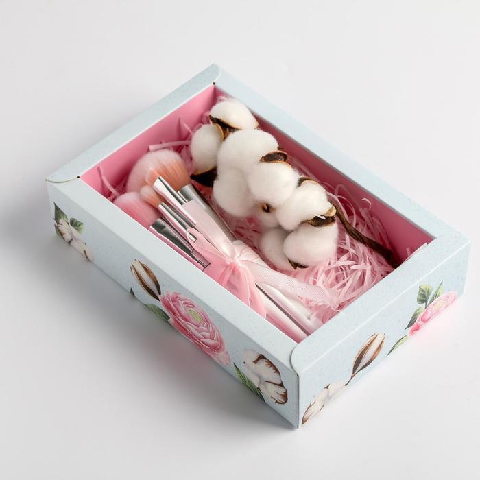 Подарочный набор с экодекором «Прекрасных мгновений», 14 × 22 × 5 см