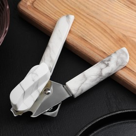 "Canning knife ""Marble"" 18 cm, handle soft-touch, color gray"