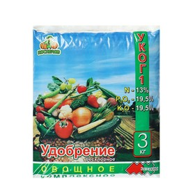 Удобрение Овощное,  3 кг