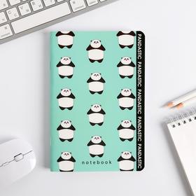 Блокнот софт-тач Panda, А5, 48 листов