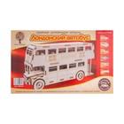 Сборная деревянная модель «Лондонский автобус»