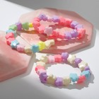 """Bracelet child """"Vibracula"""" flowers MIX color"""