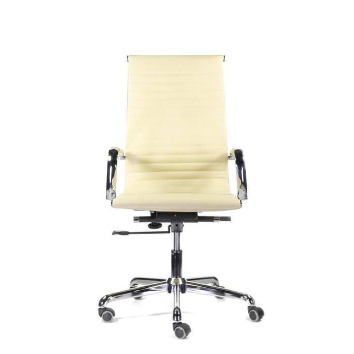 Кресло Кайман В СН-300 хром (бежевый)