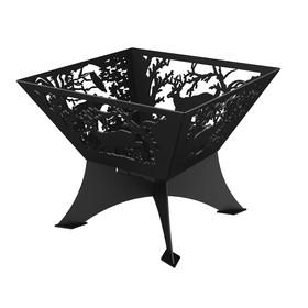 Очаг для костра Grillux «Лесная сказка», 60х60х46.8 см, сталь 4 мм, термокраска