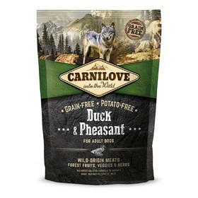 Cухой корм Carnilove Duck Pheasant для собак, беззерновой, утка и фазан, 1,5 кг
