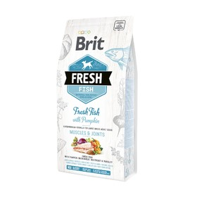 Сухой корм Brit Fresh Fish для собак, рыба и тыква, 1,5 кг