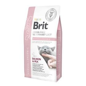 Сухой корм Brit VDC Hypoallergenic для кошек, беззерновой, гипоаллергенный, 2 кг