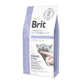 Сухой корм Brit VDC Gastrointestinal, для кошек, при болезнях ЖКТ, 2 кг