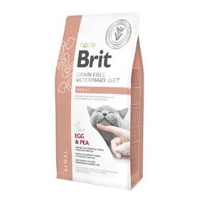 Сухой корм Brit VDC Renal, для кошек, при заболеваниях почек, беззерновой, 400 г
