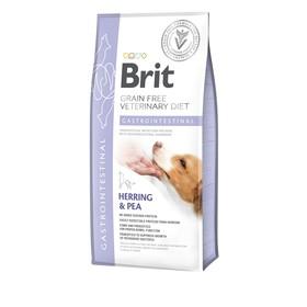 Сухой корм Brit Gastrointestinal для собак, зерновая диета, остр/хрон.гастро, 2 кг