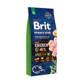 Сухой корм Brit Premium by Nature Adult XL для собак гигантских пород, 15 кг