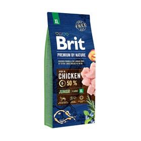 Сухой корм Brit Premium by Nature Junior XL для собак гигантских пород, 15 кг