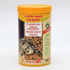Корм Sera Reptil Professional Carnivor для рептилий, 1000 мл, 310 г
