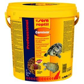 Корм Sera Reptil Professional Carnivor для рептилий, 10000 мл, 3,2 кг, ведро