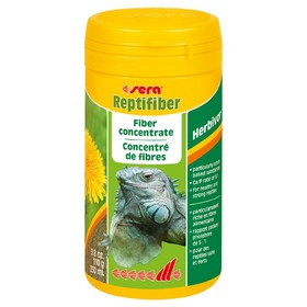 Растительная подкормка Sera Reptifiber для рептилий, 250 мл