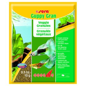 Корм Sera Guppy gran для гуппи, 10 г