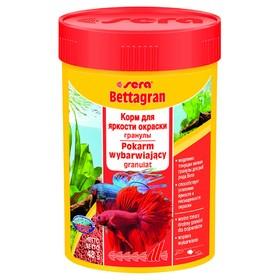 Корм Sera Bettagran для петушков, в гранулах, 100 мл 48 г