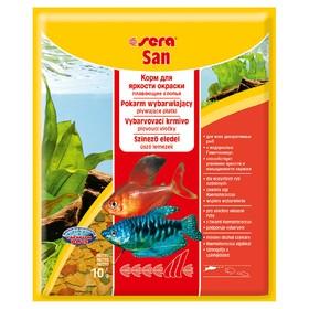 Корм Sera для рыб основной в хлопьях SAN 10 г, пакетик